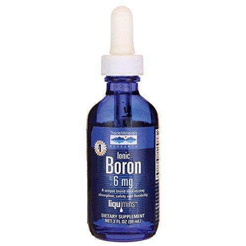 Trace Minerals Liquid Ionic Boron, 6mg, 2 oz Review