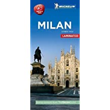 Michelin Milan City Map - Laminated