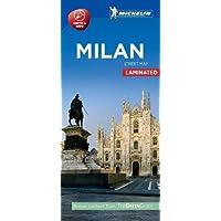 Michelin Milan City Map - Laminated