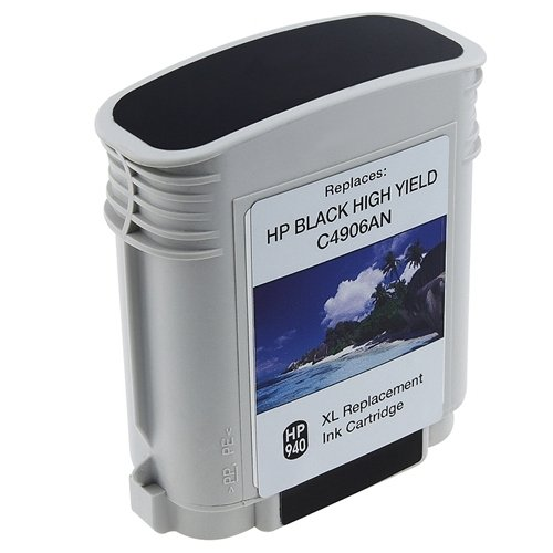 Remanufactured Ink Cartridge Replacement for HP 940xl C4906AN (1 Black) Photo #1