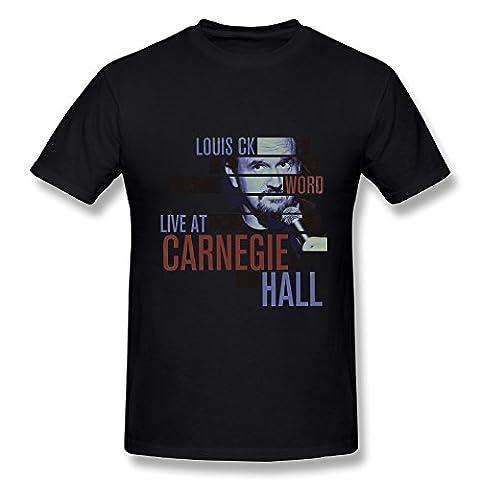 Comedy Louis C.K. World Tour 2016 T Shirt For Men (Louis Ck Comedy Shop)