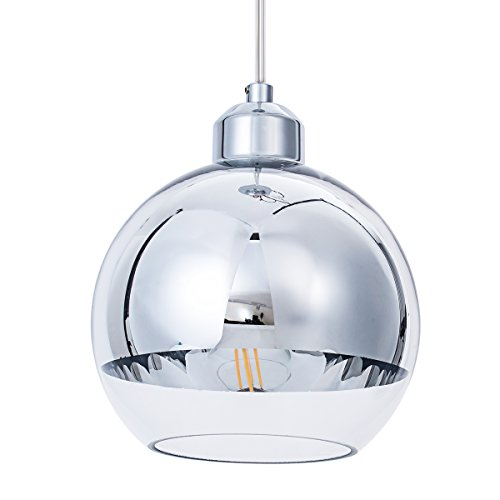 Modern Chrome Pendant Light in US - 7