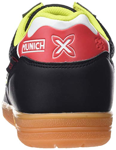 Negro Chaussures Munich G Mixte Amarillo 874 Noir Fitness 3 de Indoor Adulte xzBzf