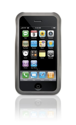 Griffin Wave Case for iPhone 3G, 3G S (Black) ()