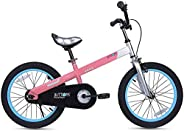 RoyalBaby Boys Girls Kids Bike Honey Buttons for 2-9 Years Old 12 14 16 18 Inch Kids Bicycle with Training Wheels or Kicksta