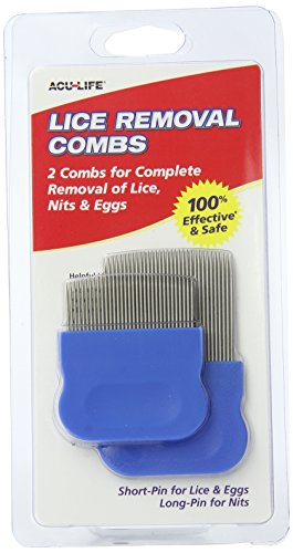 AcuLife Lice Removal Combs Pack of 2