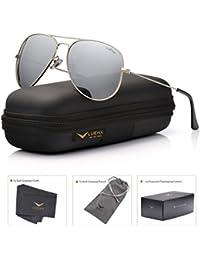 Men Aviator Sunglasses Polarized - UV 400 Protection with...