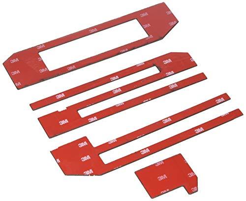 Putco 55556BPFD F-150 Letters Black Platinum Cut Letters Rear Tailgate Pieces F-150 Letters -