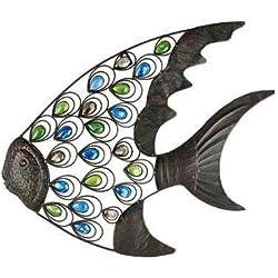 "Gardman 8458 Tropical Fish Wall Art, 21.25"" Wide x 18"" High"