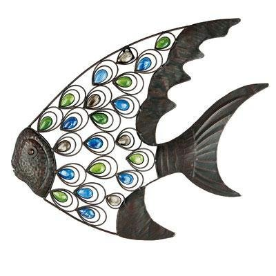 Gardman 8458 Tropical Fish Wall Art, 21.25