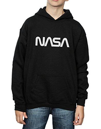 negro con Nasa Cult moderno sudadera Boy Logo capucha Absolute n78qCgwpC