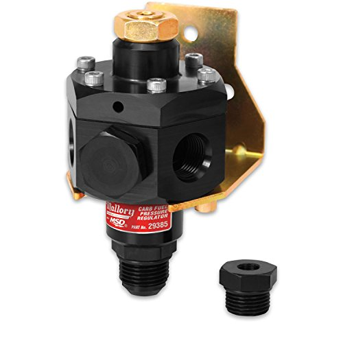 Mallory 29385 Fuel Pressure Regulator (Andzd,4-12PSI,4por)