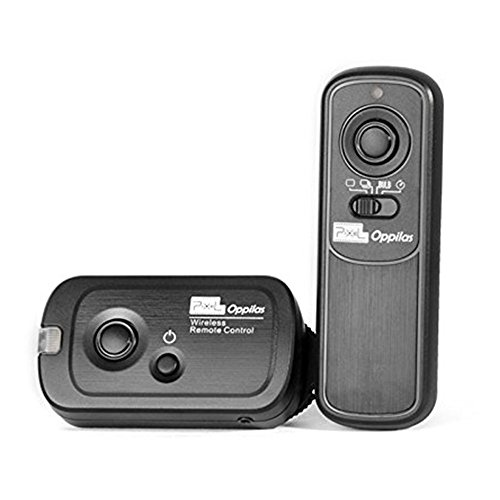 Pixel RW-221 L1 Wireless Shutter Release Cable Remote Control Controller for Panasonic G1 GH1 GH2 FZ50 FZ1000 Leica Digital Cameras Replaces Panasonic ()
