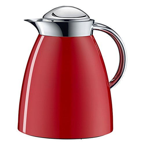 alfi Vacuum Thermal Carafe Gusto Tea 1 Liter, 34 fl. oz, Red by Alfi