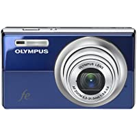 Olympus FE-5010 12MP Digital Camera with 5x Optical Dual Image Stabilized Zoom and 2.7 inch LCD (Blue) Overview Review Image