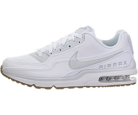 Nike Air Max Ltd 3 TXT White/Premium Platinum-White-Gum Light Brown (12 D(M) US)