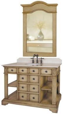 Amazon Com Bundle 51 46 Single Bathroom Vanity Set 2 Pieces Kitchen Dining
