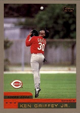 Amazoncom 2000 Topps Baseball Card 400 Ken Griffey Jr