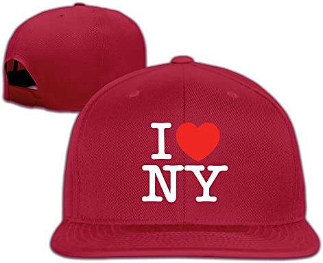 Suta I Love New York - Gorra Ajustable con Visera Plana, Color ...