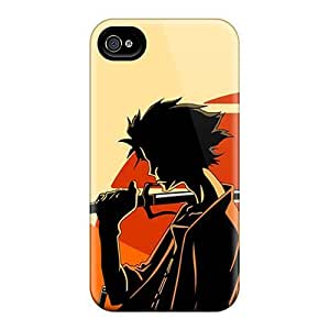 Tpu Case Cover For Iphone 6 Strong Protect Case - Samurai Champloo Design