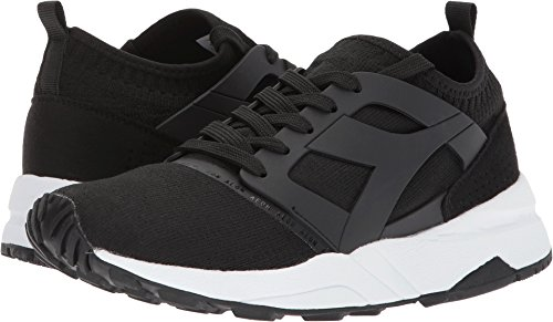 Cheap Diadora Unisex EVO Aeon Black 10.5 Women/9 Men M US
