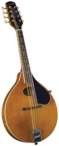Kentucky KM-272 Artist Oval Hole A-Style Mandolin - Transparent Amber by Kentucky