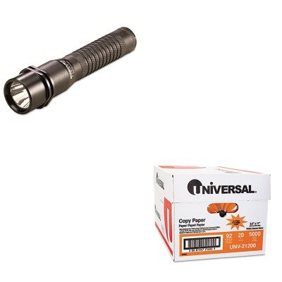 KITLGT74302UNV21200 - Value Kit - Streamlight Inc Strion LED Rechargeable Flashlight (LGT74302) and Universal Copy Paper (UNV21200)