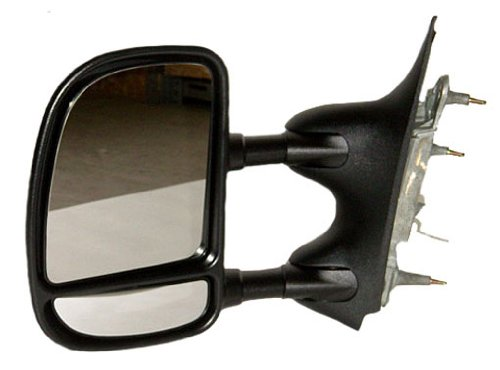 OE Replacement Ford Econoline Van Driver Side Mirror Outside Rear View Unknown Partslink Number FO1320238