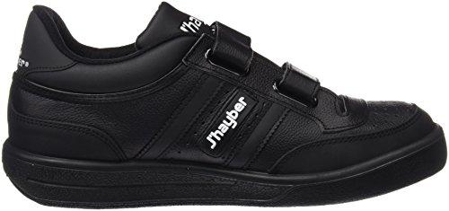 J-Hayber Olimpia - Zapatillas unisex, color negro