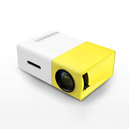 DIHH Mini Proyector Proyector LED A Todo Color PC Multimedia ...