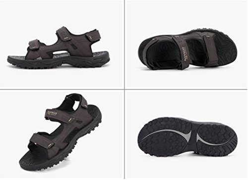 Comfortable Non Casual Beach Shoes Classic Unisex Black Junsi Business Slippers slip Sandals YwnqF8Cx