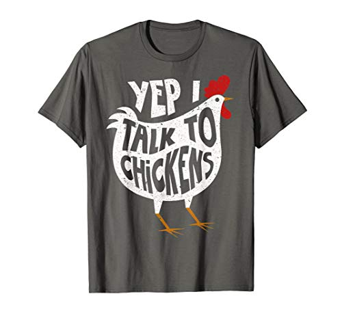 Yep I Talk To Chickens Shirt | Cute Chicken Buffs Tee Gift