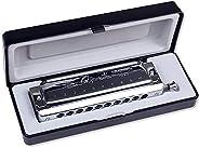 Swan SW1040 10 Hole 40 Tone C Key Chromatic Harmonica Adult Students Beginners Entry Professional Playing Vari