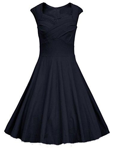 80s Polka Dot Dress - 6