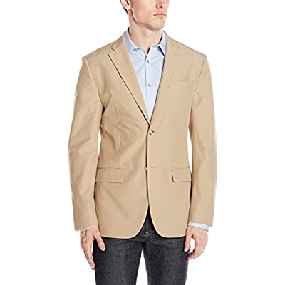 Cheap Perry Ellis Men\'s Slim Fit Travel Luxe Cotton Jacket for sale Nl4P1J2V