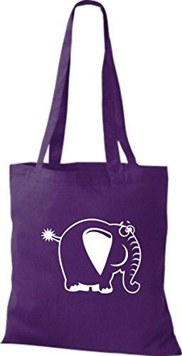 Purple Shirtstown femmes fourre Sac tout pour lilac 80ndqwr0