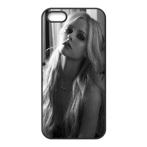 Avril Lavigne Makeup iPhone 5 5S Handyfall hülle schwarz Handy Fallabdeckung EOKXLLNCD21905