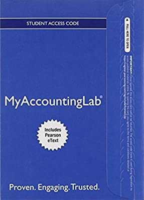 MyLab Accounting with Pearson eText -- Access Card -- for Horngren's Accounting: The Managerial Chapters (My Accounting Lab)