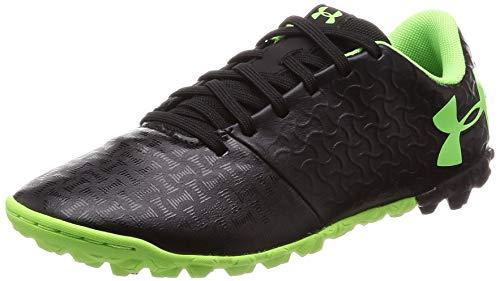 Under Armour Unisex-Kid's Magnetico Select JR Turf Soccer Shoe, Black (002)/Black, 6 M US Big Kid