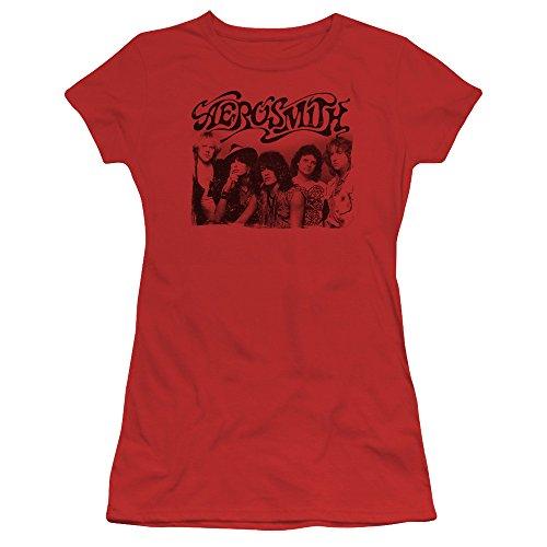 Photo shirt Femmes Red T Aerosmith Des Vieille vqgxAxwZ