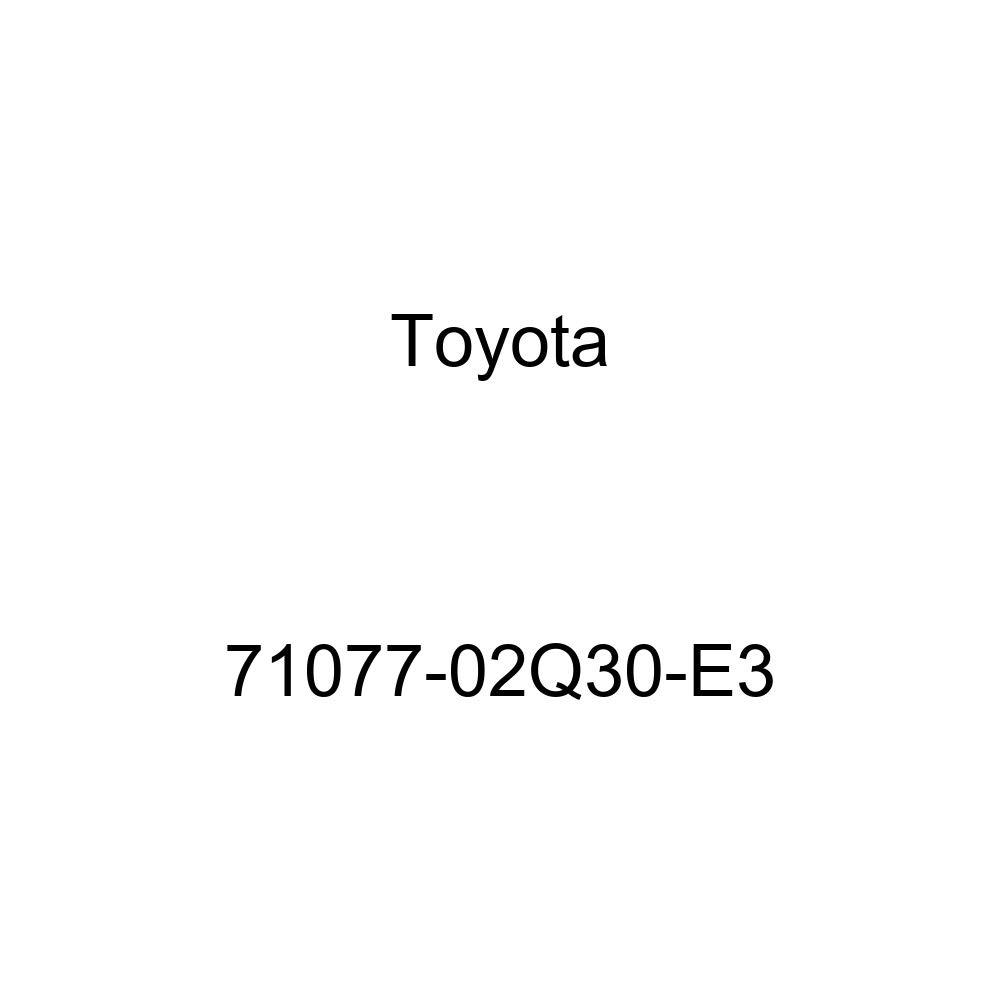TOYOTA Genuine 71077-02Q30-E3 Seat Back Cover