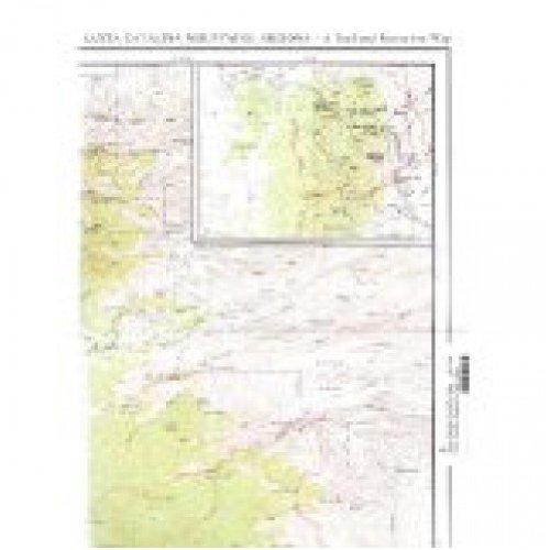 Santa Catalina Mountains, Arizona Trail and Recreation Map ...