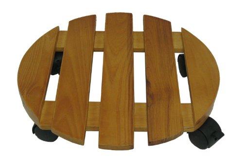 Misco 9589 Round Wood Planter Caddie, 14 - Wood Round Planter Shopping Results