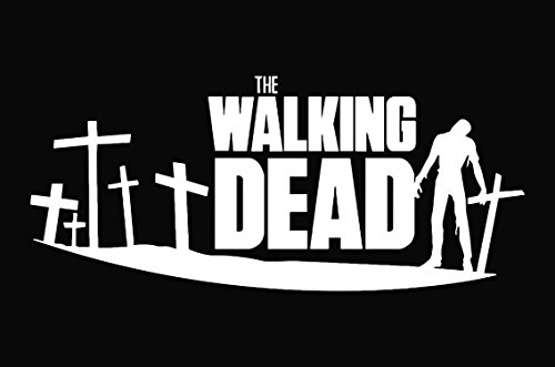 The Walking Dead Decal Sticker Car Truck Laptop Window -