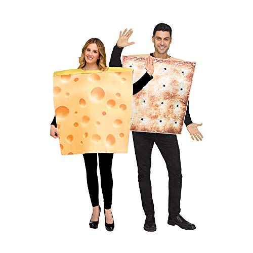 Fun World Cheese and Cracker Costumes for Adults]()