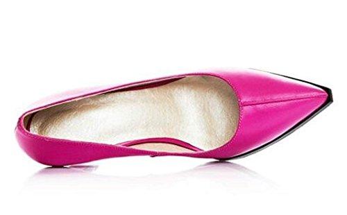 Pompes Sur Talon Robe Haut De Glissement Mariage Mariage HotPink Chaussures Femmes Pointu Stilettos Escarpins La Bout De tqYCzqwW4