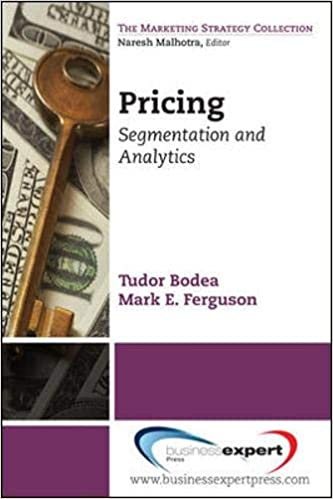 Pricing: Segmentation and Analytics (Marketing Strategy