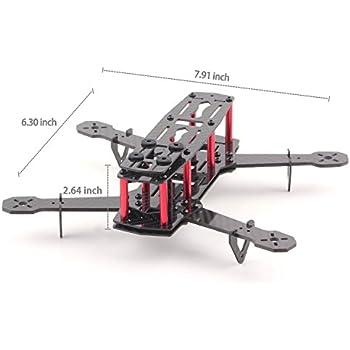 YKS DIY Full Carbon Fiber Mini C250 Quadcopter Frame Kit for FPV Mini Quadcopter Part