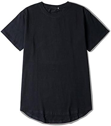 メンズ 半袖 Tシャツ 丈長 厚手 5.6オンス #1947 綿100 無地 ロング丈