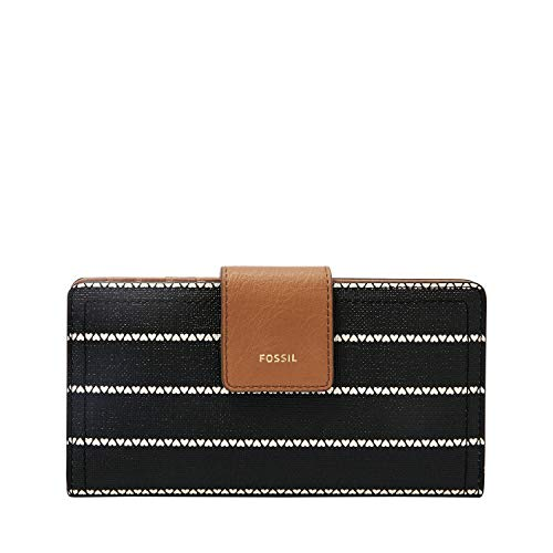 Fossil Logan RFID Tab Wallet, Black/White from Fossil